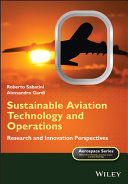 Sustainable Aviation Technology and Operations