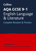 AQA GCSE 9 1 English Language and Literature All in One Complete Revision and Practice  For the 2020 Autumn   2021 Summer Exams  Collins GCSE Grade 9 1 Revision