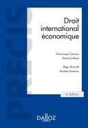Pdf Droit international économique Telecharger