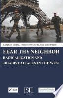 Fear Thy Neighbor Book PDF