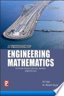 A Textbook of Engineering Mathematics (PTU, Jalandhar) Sem-III/IV