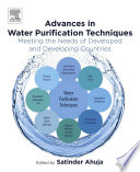 Advances in Water Purification Techniques