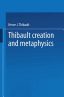 Pdf Creation and Metaphysics Telecharger