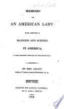 Memoirs Of An American Lady Book PDF