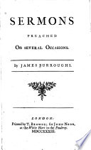 Sermons Preached on Several Occasions
