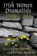 Irish Women Dramatists Pdf/ePub eBook