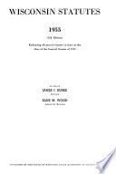 Wisconsin Statutes 1955