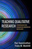 Teaching Qualitative Research