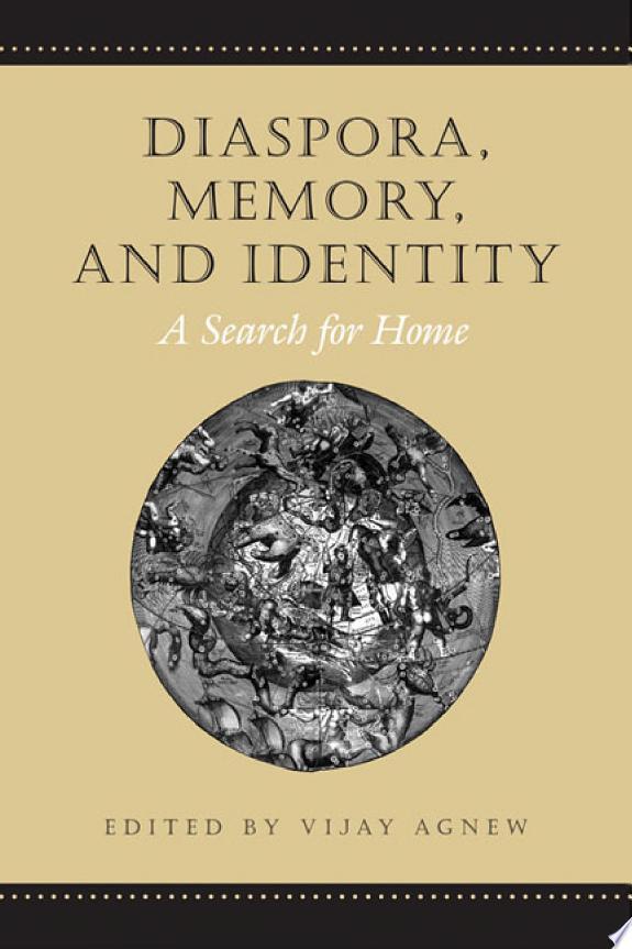 Diaspora, Memory and Identity
