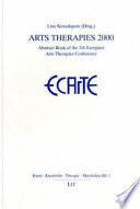Abstract Book Of The 5th European Arts Therapies Conference
