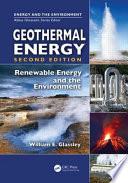 Geothermal Energy Book PDF