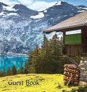 GUEST BOOK  Hardback   Visitors Book  Guest Comments Book  Vacation Home Guest Book  Cabin Guest Book  Visitor Comments Book  House Guest Book