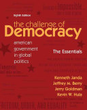 The Challenge of Democracy Essentials  American Government in Global Politics Book