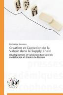 Creation et Captation de la Valeur dans la Supply Chain