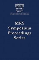 Advanced Catalytic Materials - 1998: Volume 549