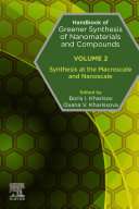 Handbook of Greener Synthesis of Nanomaterials and Compounds