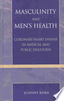 Masculinity And Men S Health Book PDF