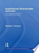 Institutional Shareholder Activism
