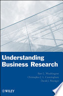 Understanding Business Research