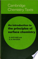 An Introduction to the Principles of Surface Chemistry Book