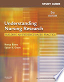 Study Guide For Understanding Nursing Research E Book