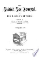 British Bee Journal & Bee-keepers Adviser