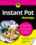 Instant Pot Cookbook For Dummies Book