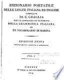 Dizionario portatile delle lingue italiana ed inglese