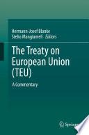 The Treaty On European Union Teu