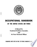 Occupational Handbook of the United Staes Air Force