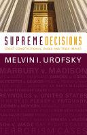Supreme Decisions