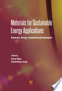 Materials For Sustainable Energy Applications Book PDF