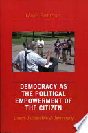 Democracy As The Political Empowerment Of The Citizen