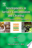 Developments in Surface Contamination and Cleaning - Vol 2