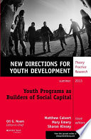 Youth Programs as Builders of Social Capital