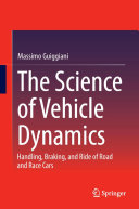The Science of Vehicle Dynamics Book