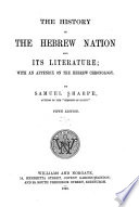 The History of the Hebrew Nation and Its Literature