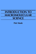 Introduction to Macromolecular Science