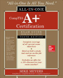 link to CompTIA A+ certification exam guide, (exams 220-1001 & 220-1002) in the TCC library catalog