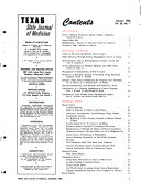 Texas State Journal of Medicine