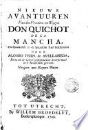 Nieuwe Avantuuren Van Den Vroomen En Wijzen Don Quichot De La Mancha