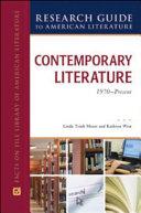 Contemporary Literature  1970 to Present