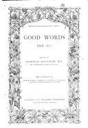 Good Words and Sunday Magazine Book