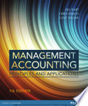 Management Accounting  Principles   Applications Book
