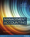 Management Accounting: Principles & Applications