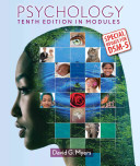 Cover of Psychology in Modules with Updates on DSM-5