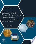 Surface Area and Porosity Determinations by Physisorption
