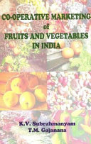 Cooperative Marketing of Fruits and Vegetables in India