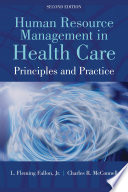 Human Resource Management in Health Care Book