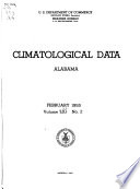 """""""Climatological Data"""" by United States. Weather Bureau, United States. Environmental Data and Information Service, National Climatic Data Center (U.S.), United States. National Environmental Satellite, Data, and Information Service"""